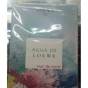 Agua De Loewe Mar Del Coral 100ml Totalmente Nuevo, Sellado!