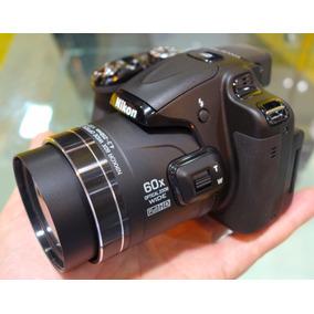 Câmera Nikon P600 Wi-fi Zoomóptico 60x 16.1mp Vídeos Full Hd