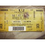 Boletas U2 - Joshua Tree Tour - Bogotá 2017