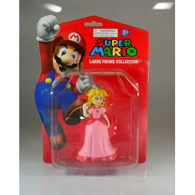 Muñeca Princesa Peach Super Mario Bros Juguete Niña Regalo