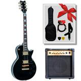 Guitarra Eléctrica Queen Slpc380 Tipo Lp + Amp. Scorpion G20