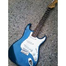 Guitarra Leonard Stratocaster Maciza! Canje Envio Tarjetas!