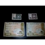 Estampilla Timbre Fiscal (juego) 300-100-20