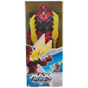 Max Steel Surtido Figuras Basicas Con Accesorio Dread Espada