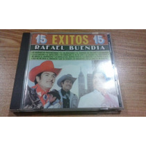 Rafael Buendia Cd Original De Coleccion Raro Exitos Mexicano