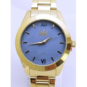 7080d335ef9 Relogio Feminino Dourado Dumont Rio De Janeiro - Relógios De Pulso ...