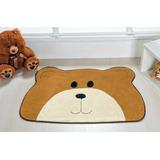 Tapete Formato Urso Carinho Caramelo