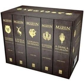 Box As Crônicas De Gelo E Fogo (5 Vols.) Preço Imbatível!