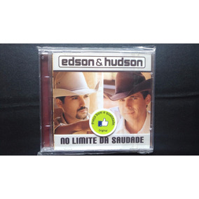 Cd Edson & Hudson ( No Limite Da Saudade 2001 )- Abril Music