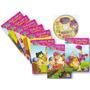 Coleção Cindy E Sua Turma - 8 Livros + Cd-rom - Educativo
