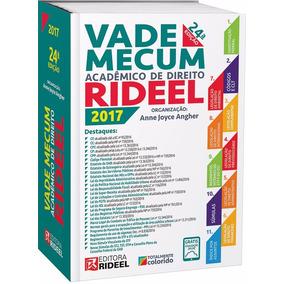 Vade Mecum Acadêmico De Direito Rideel / 24ª Edição 2017
