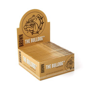 Papel Para Fumar The Bulldog Paper Brown Kss / Display