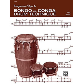 Libro Progressive Steps To Bongo And Conga Drum Technique
