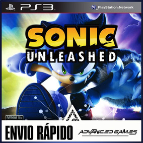 Sonic Unleashed - Jogos Ps3 Midia Digital