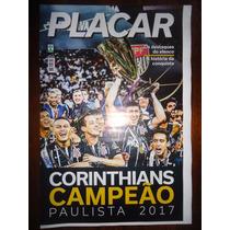 Revista Poster Placar Corinthians Campeão Paulista 2017