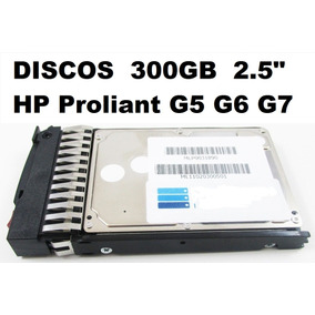 Para Discos De 300gb Sata Hp Proliant G5 G6 G7 2.5 Sas Ml Dl