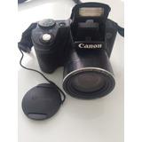 Máquina Fotográfica Cânon Sx510 Hs Com Tripé