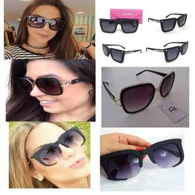 35663d25c3faf óculos De Sol Feminino Miu - Óculos De Sol no Mercado Livre Brasil