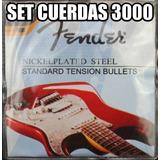 Cuerdas De Guitarra Fender 0,10
