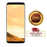 Samsung S8 Ds Dorado Lte Original Liberado Rom 64gb 13mp