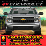 Calcomania Chevrolet Silverado Tahoe Avalanche Parabrisas