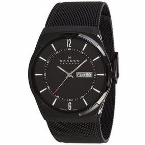 Relógio Skagen Masculino Skw6006 Preto - Nota Fiscal