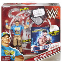 Wwe Ultimate Fan Pack John Cena Boneca Set Especial Mattel
