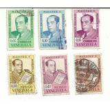 Estampillas Venezuela 1964 Romulo Gallegos