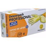 Luva De Procedimento Latex Descarpack C/ Talco Tam M 1000un.
