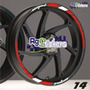 Stickers/calcomanias Rin Pulsar Yamaha Honda Suzuki Italika