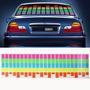 Panel Ecualizador Audioritmico Para Auto 45x11 Cms