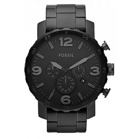 Relógio Masculino Fossil Preto Fosco - Jr1401 Original