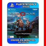 God Of War Ps4 Digital Todo En Español Envios En Minutos