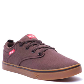 Tênis Feminino Vibe Feel Lona Coffee