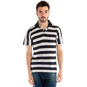 Camisa Pólo Manga Curta Ribana Listrada Ref. 9822 - Calçados 91babb6b328d5
