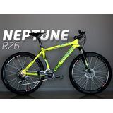 Bicicleta Mtb Top Mega Neptune R26 Colores 2018 + Timbre Ktm