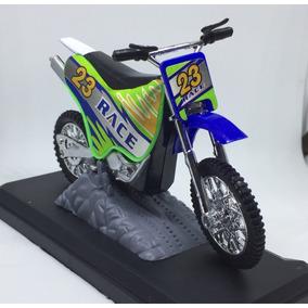 Miniatura De Moto Yamaha De Trilha 1/18