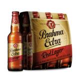 Cerveja Brahma Extra Red Lager 355ml Caixa Com 06 Unidades B
