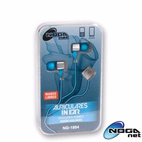 Auriculares In Ear Manos Libres Noganet Ng-1954