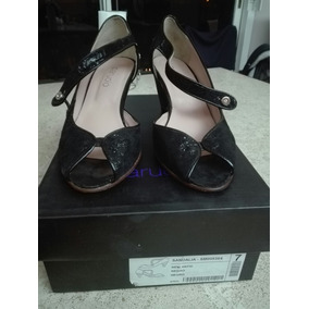 Zapatos De Fiesta -paruolo- Talle 37