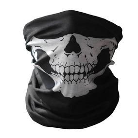 Mascara Bufanda Esqueleto Calavera Motociclista Pasamontaña