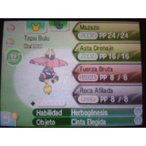 Pokemon Competetivos 6iv