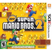 New Super Mario Bros 2 - Nintendo 3ds, 2ds, New 3ds Xl