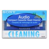 Fita De Limpeza Cassete K-7 P/ Cabeçote De Toca-fitas E Tape