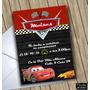 Invitaciones Digitales Personalizadas De Cars