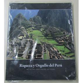 Peru Album Vacio Monedas Serie Riqueza Y Orgullo Departament