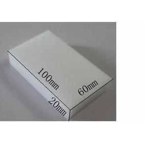 Kit Com 200 - Esponja Mágica Melamina - Medidas 10 X 6 X 2cm