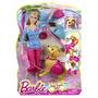 Muñeca Barbie Con Perrito Bhg13 Entrega Inmediata