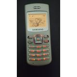 Celular Samsung Sch N380 Prata Cdma Manuais Carregador