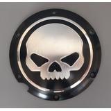 Derby Cover Tapa Clutch Skull Para Harley Davidson Sportster